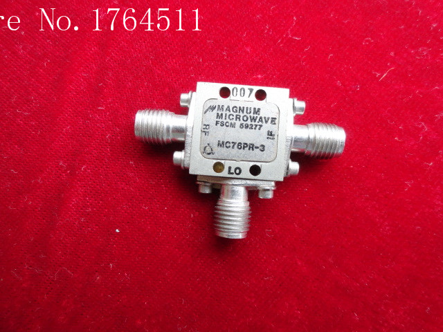 [BELLA] MAGNUM MICROWAVE MC76PR-3 SMA RF RF Coaxial Double Balanced Mixer