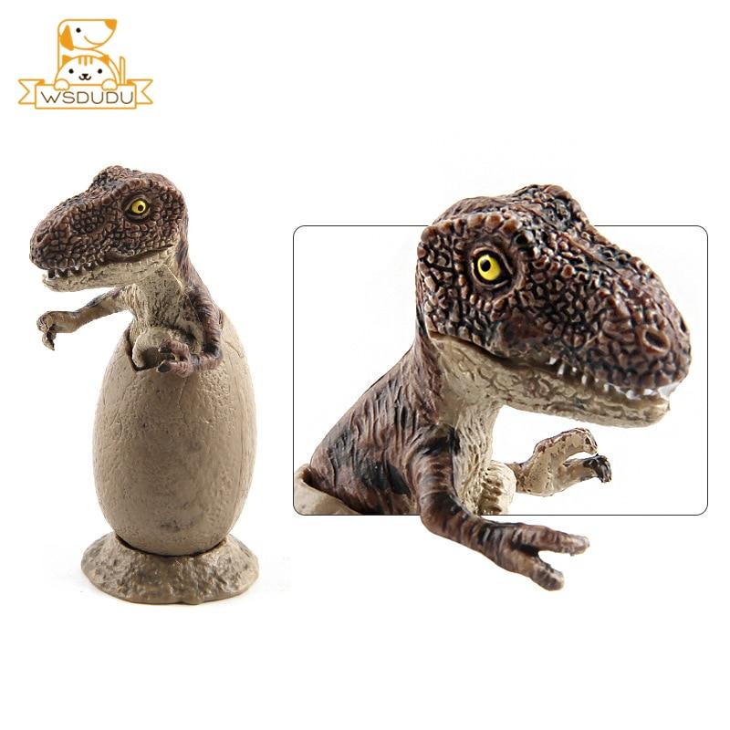 3pcs//set Jurassic World Park Dinosaur Egg Toy Baby Action Figure Gift Fast
