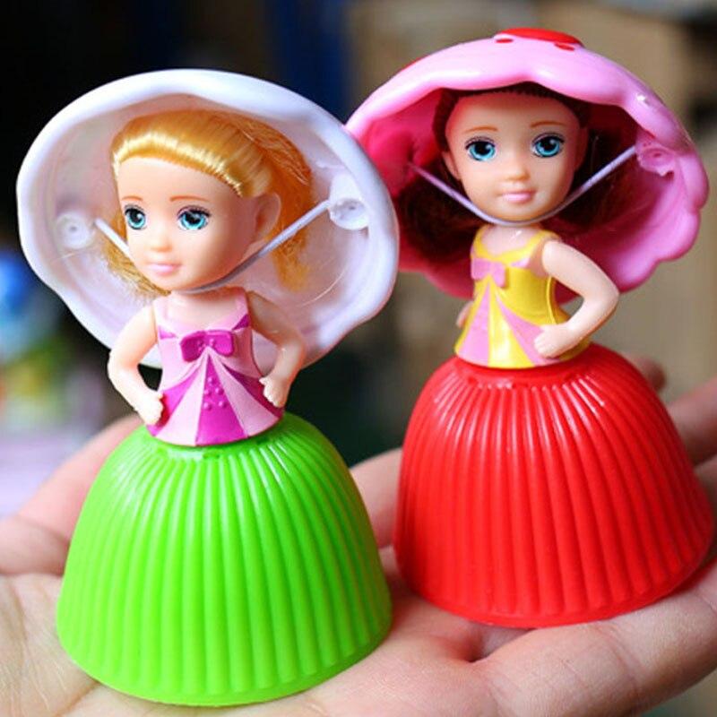 New Cartoon Lovely Cupcake Princess Dolls Kids Toys -2531