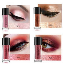 VERONNI 12 Color Glitter Eyeshadow single Loose Powder Eyes Makeup Palette Rose Gold Cosmetics Waterproof Eye Shadow Nude