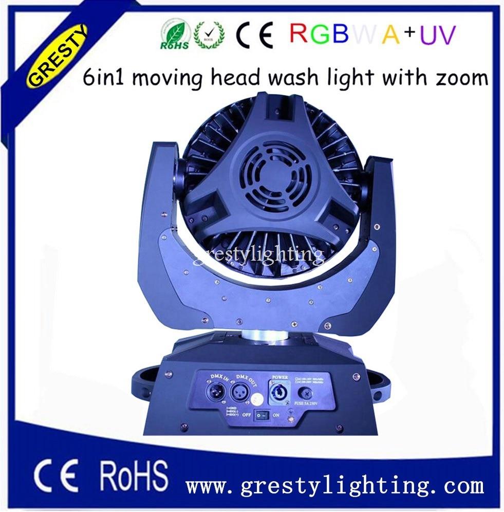 2 հատ / լոտ 36 հատ * 18W 6 in1 RGBWAUV խոշորացում - Կոմերցիոն լուսավորություն - Լուսանկար 3