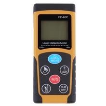 Wholesale CP-40P 40 m-precision Handheld Digital IR Laser Distance Meter Range Finder Diastimeter Hot Worldwide