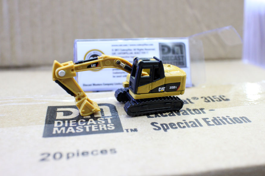 Truck Model 1:160 Excavator MINI Toy Excavator N scale Scene Decoration