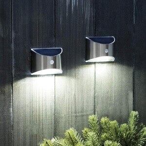 Image 2 - Solar Verlichting Outdoor Motion Sensor Nacht Beveiliging Wandlamp Led Waterdichte Energiebesparende Tuin Voordeur Yard Dropshipping