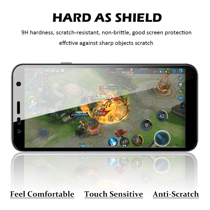 9D Protective Glass for Samsung A7 2018 A750F A9 2018 Glass on J2 J4 J415F J6 Plus J8 2018 Full Screen Coverage Tempered Film in Phone Screen Protectors from Cellphones Telecommunications