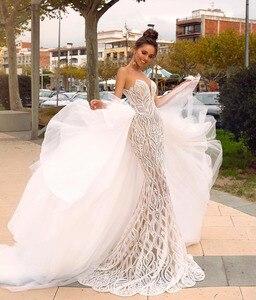 Image 1 - Eslieb Gelin Elbiseleri Hochzeit Kleid 2019 Gelinlik Brautkleider Meerjungfrau Schatz Vestido de Noiva Bruidsjurken