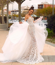 Eslieb Gelin Elbiseleri Wedding Dress 2019 Gelinlik Wedding Dresses Mermaid Sweetheart Vestido de Noiva Bruidsjurken