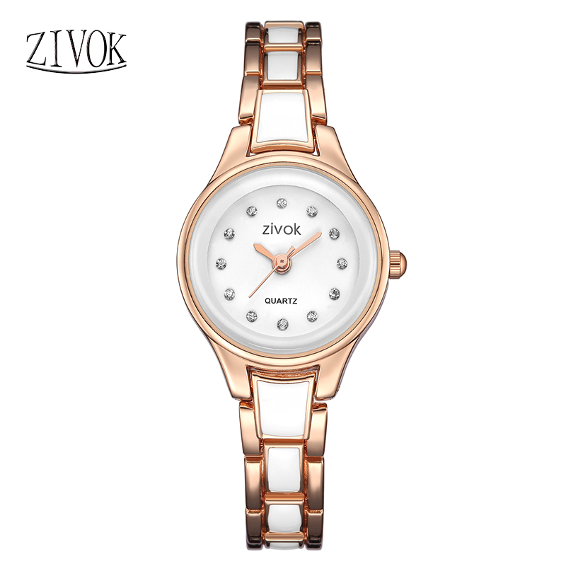 Zivok Luxe Femmes Armband Rose Couleur Dames Lover Quartz - Dameshorloges - Foto 2