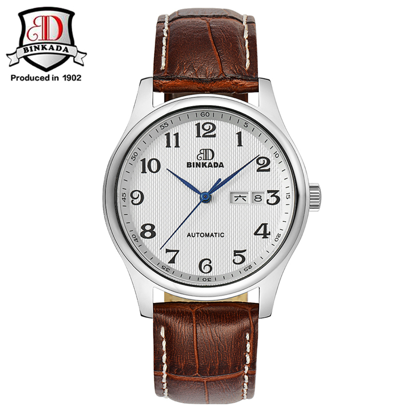2017 BINKADA Hot Promotion Mechanical Watches Stainless Steel Men Automatic Flying Tourbillon Watches Men's Big Gold Wrist Watch big promotion 100