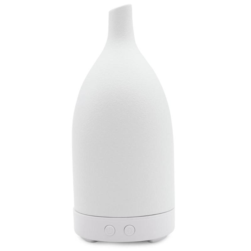 100ML Capacity Ceramic Pattern Humidifier 7 Colors Changing LED Light Aroma Essential Oil Diffuser
