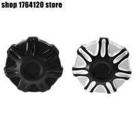Gear Fuel Gas Tank Cap Cover Black&Chrome/Matte Black Oil Cover For Harley Touring Road King Dyna Softail Deluxe FLSTN