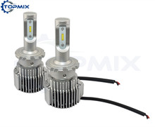 2017 New Super Bright 8000LM 72W D2S D2R D2C D4S D4R D4C Car Led Headlights Bulb Auto Conversion Kit Automobile Fog DRL Light(China)