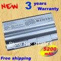 New 5200MAH BPS8 BPS8A BPL8 VGP-BPS8 BPL8 BPL8A VGP-BPS8A VGN-FZ Battery +free shipping