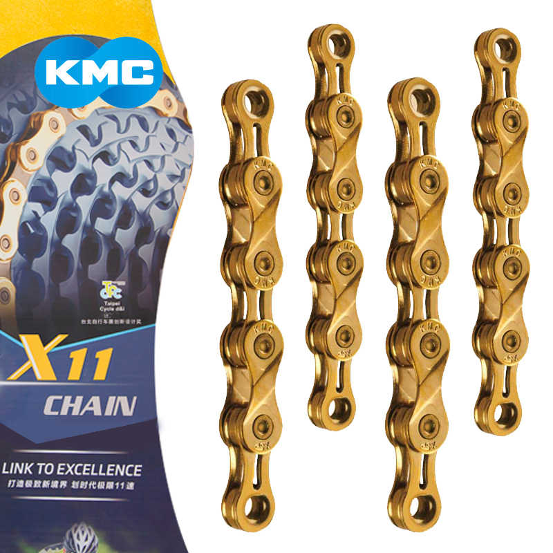 X9L/X10L/X11L Super Light Double X Bicycle Chain 9 10 11 Speed Mountain Road Bike Chain for Shimano/SRAM/Campagnolo 116 Links