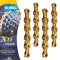 X9L/X10L/X11L супер светильник двойная велосипедная цепь 9 10 11 скоростная горная цепь для дорожного велосипеда для Shimano/SRAM/Campagnolo 116 звеньев