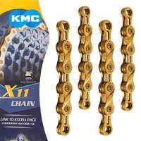 X9L/X10L/X11L Super ligero doble X cadena de bicicleta 9 10 11 velocidad Cadena de bicicleta de carretera de montaña para Shimano/SRAM/Campagnolo 116 enlaces