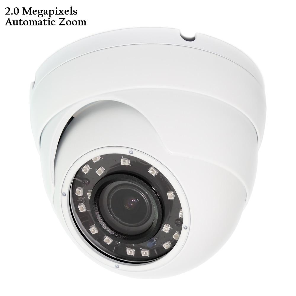 Automatic Zoom 2.8-12mm Varifocal Motorized Lens HD Video Camera IR Waterproof Dome CCTV Security System 2.0 MP Sony Starlight недорго, оригинальная цена