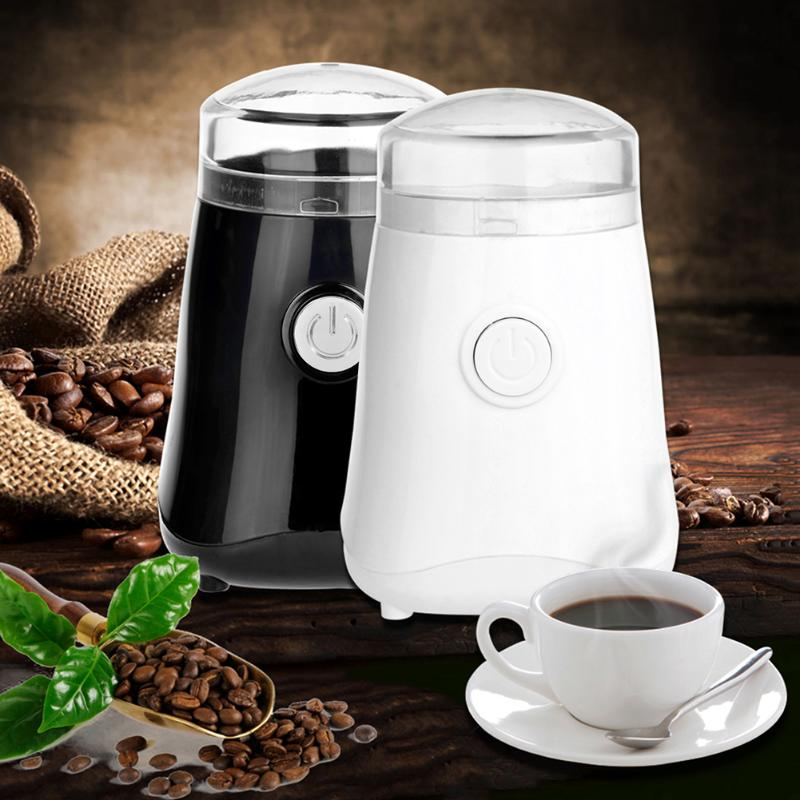 150W Electric Coffee Grinder mill Whole Bean Nut Spice Mill EU Plug home medicine flour powder crusher stainless steel blades indian spice cloves whole 7oz