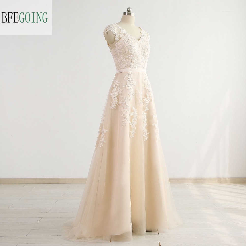 3158463a7d ₩ New! Perfect quality champagne tulle real and get free shipping ...