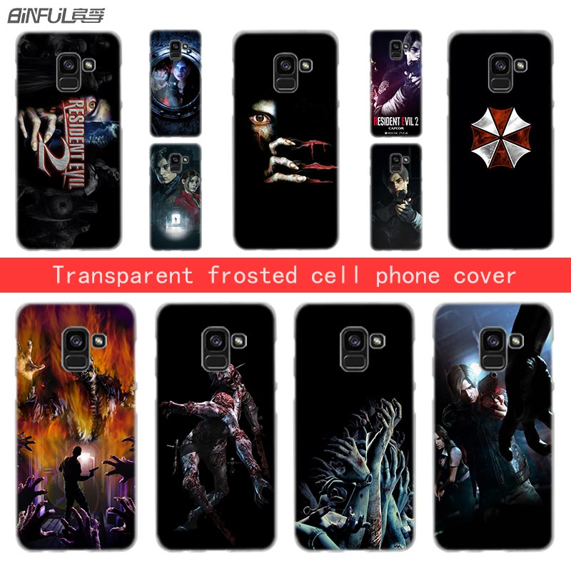 The Cheapest Price Resident Evil Umbrella Transparent Phone Hard Case For Samsung Galaxy M10 M20 A3 A5 A6s A7 A8 2016 2017 A6 2018 Plus High Quality Half-wrapped Case