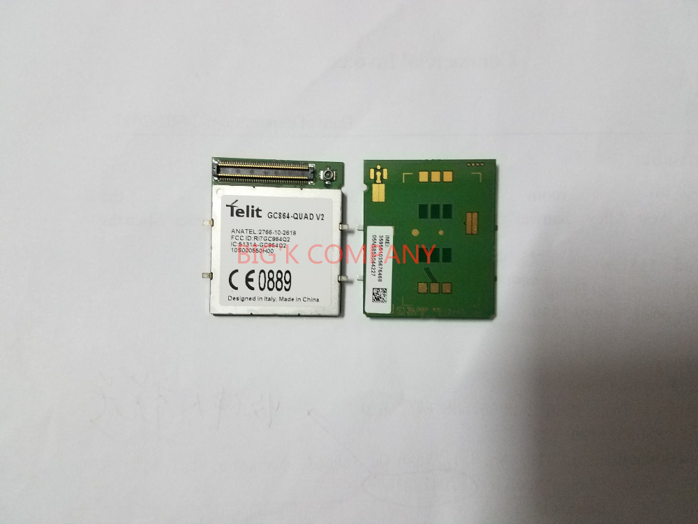 GC864-QUAD V2 Telit 2G 100% New Genuine Distributor in stock GSM/GPRS Embedded quad-band module 1PCS Free Shipping