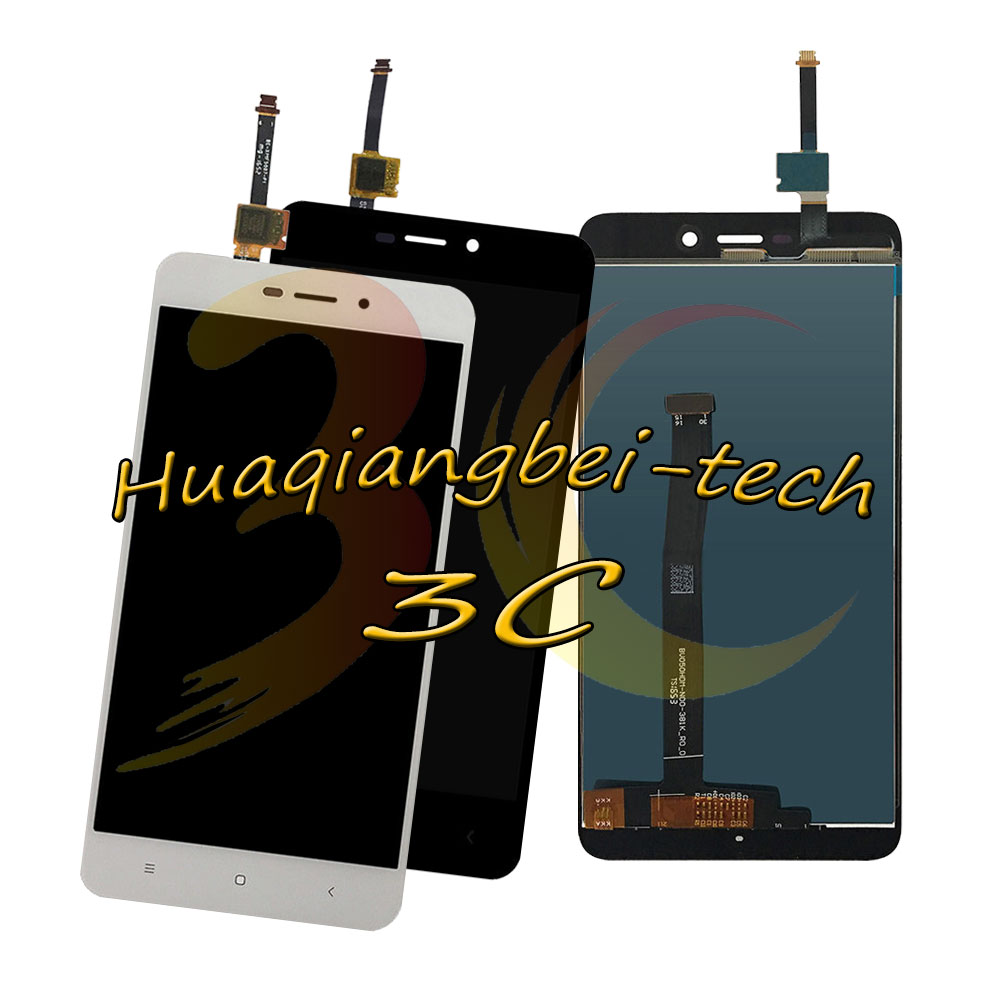 5.0'' New For Xiaomi Redmi 4A / Hongmi 4A / Red Rise 4A Full LCD DIsplay + Touch Screen Digitizer Assembly Tracking Number