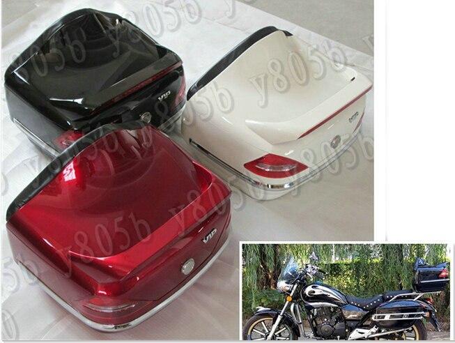 Motorfiets Kofferbak Bagage Case Staart Doos Rack Rugleuning Voor Honda Shadow Spirit Sabre Aero Ace Steed Vlx 400 600 1100 Dlx Vtx1300 Gedistribueerd Worden Over De Hele Wereld