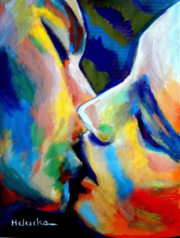 Картинки любовь красками