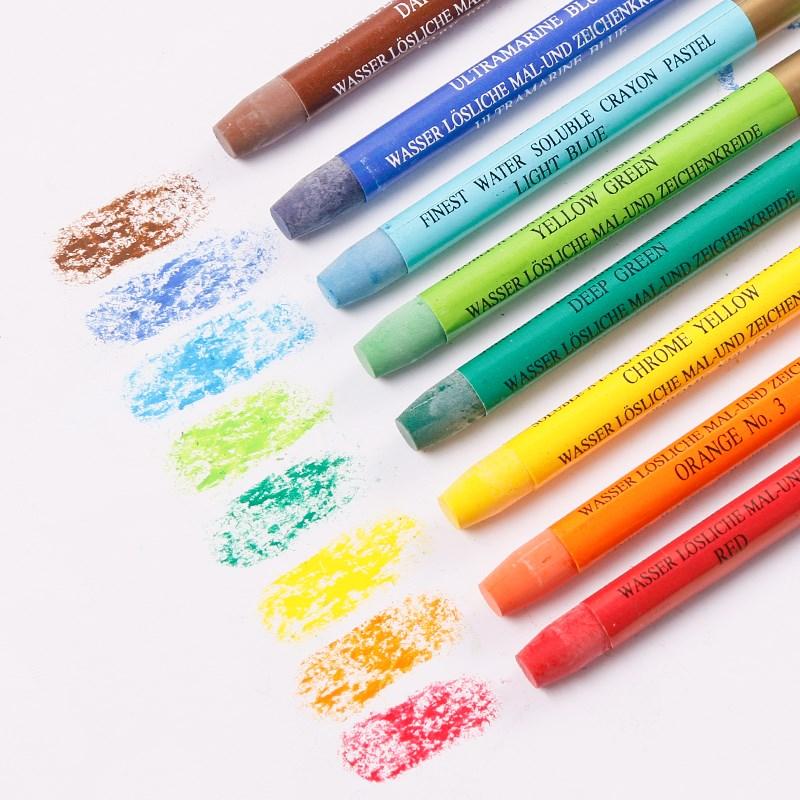 MUNGYO MAC 12/24/36 colors series Gallery Aquarell Crayons water soluble  ART drawing paint