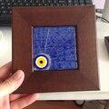 Turkish Evil Eye Charme Fusão Parede Parede de Decoração Para Casa de Peru Amuleto Pendurado Ornamento Nazar Handmade Murano de Vidro Árabe