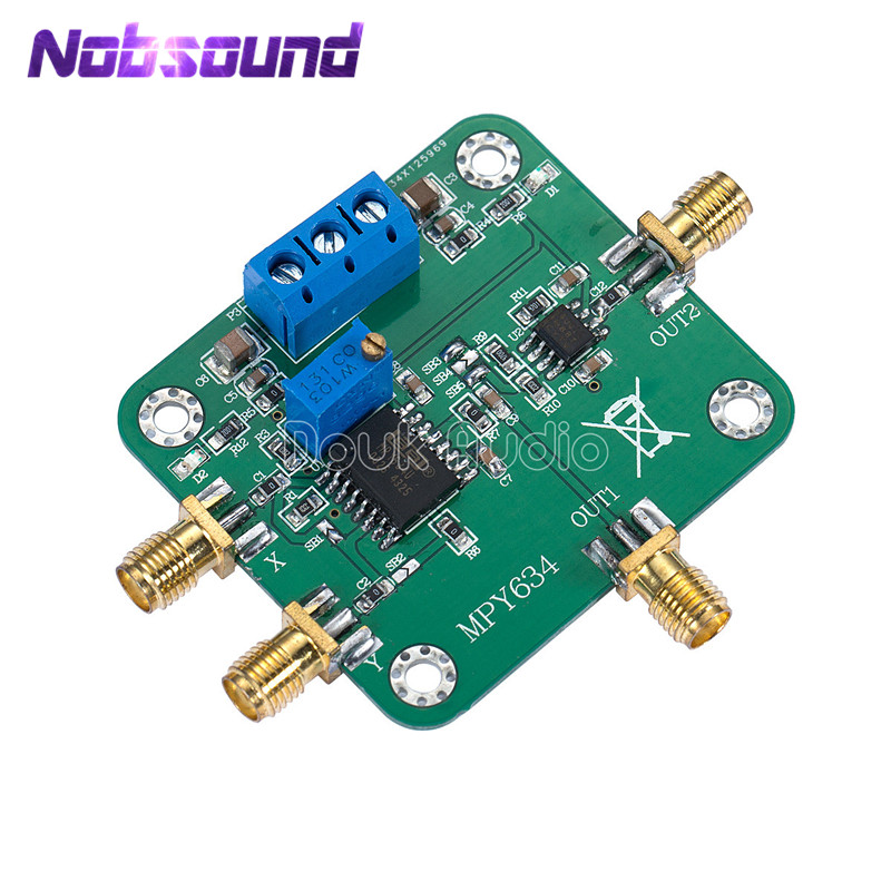 MPY634 Four Quadrant Analog Multiplier Op Amp Module Frequency Mixing ModulationMPY634 Four Quadrant Analog Multiplier Op Amp Module Frequency Mixing Modulation