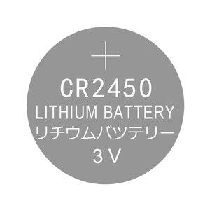 Image 2 - Pin Nút Áo Lithium Cell Pin CR2450 3V 2 Chiếc Đồng Xu CR 2450 Thay Thế 5029LC BR2450 BR2450 1W CR2450N ECR2450 DL2450 KCR2450 LM2450