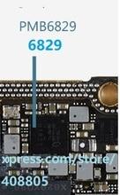 10 قطعة/الوحدة PMB6829 آيفون XS XS ماكس XR baseband الطاقة الصغيرة ic 6829