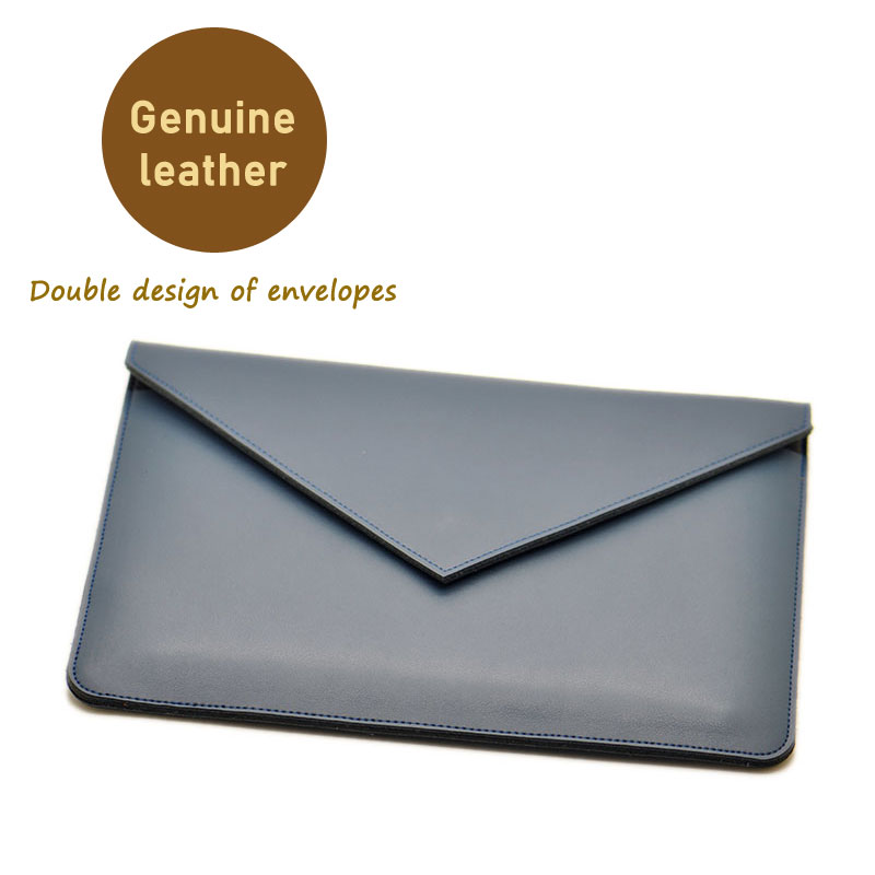 Envelope tablet Bag super slim sleeve pouch cover,Genuine leather tablet sleeve case for apple iPad mini 1/2/3/4 7.9 inch gp 01 retro envelope style protective pu leather inner bag pouch case for ipad mini brown