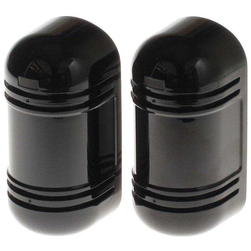 Dual Strahl Aktive Infrarot Led Detektor Mit Tamper Alarm Ausgang Für Outdoor Zaun Alarm Innerhalb Von 20-100 Meter