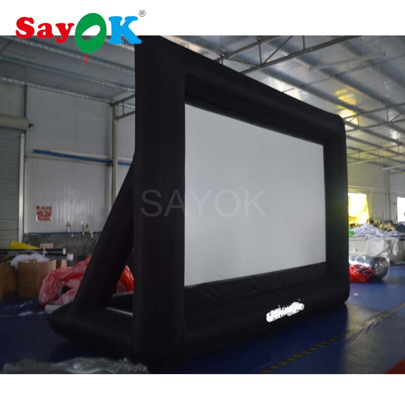Cheap inflatable movie screen/inflatable projector screen/inflatable projection movie screen for outdoor&indoor