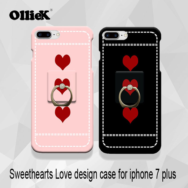 Free shipping olliek company cute couple love holder ring ...