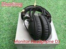 Original Monitor Headphone DJ Studio Monitoring Headset Hifi Headphones font b Guitar b font rock Headband