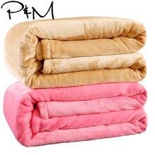 Blanket Flannel Bedsheet Winter