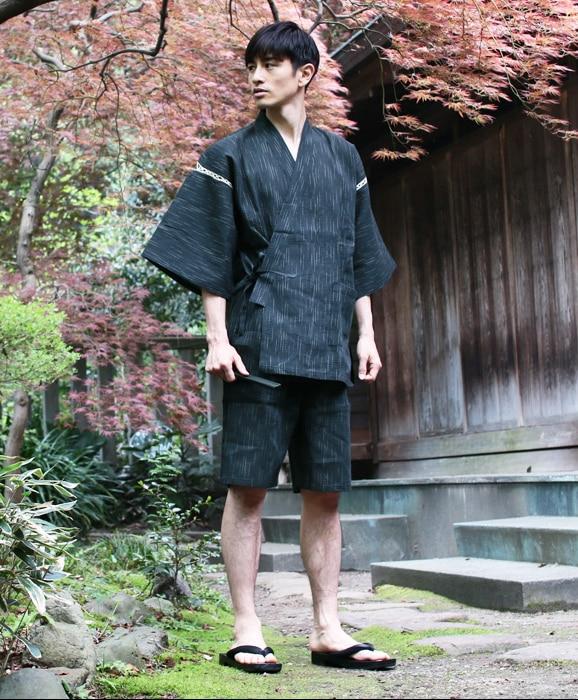 Summer 95% cotton Japan style Kimono pajamas sets
