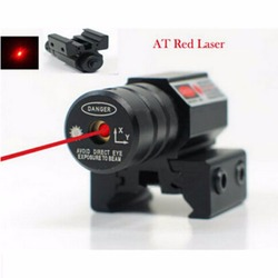 50-100 m Alcance 635-655nm Red Dot Pistola Mira Laser Ajustável 11mm 20mm Picatinny Rail Caça Acessórios nova