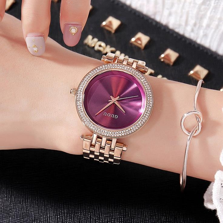 Luxury Brand Quartz Watch Women Clock 2017 Ladies Wrist Watches Female Famous quartz-watch Relogio Feminino Montre Femme 2017 fashion simple wrist watch women watches ladies luxury brand famous quartz watch female clock relogio feminino montre femme