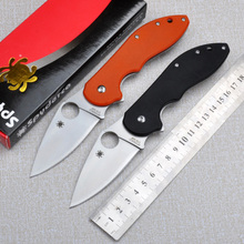 Hot! CTS Spiders steel handle folding knife outdoor camping survival tool tactical knives free shipping