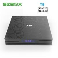 T9 Android 8.1 TV Box 4GB 64GB Rockchip RK3328 Smart TV Box 1080P H.265 4K Wifi Netflix Youtube IPTV Smart Set top box 4GB 32GB