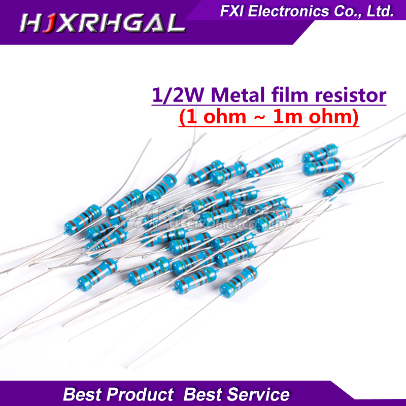10 RESISTENZE CARBON RESISTOR 510K OHM 1//4W //-5/% SERIE E24