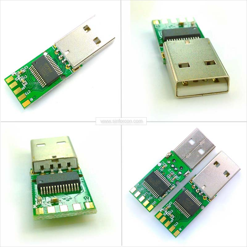 Win7 8 10 mac Android ft231 ft232 usb rs232 para rj45 blindado cabo ...