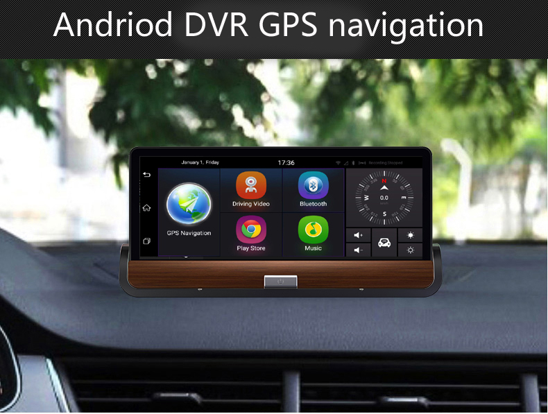 Camera Surveillance Bluetooth 7 Inch 3g Dvr Android Car Truck Dashboard Gps Navigation