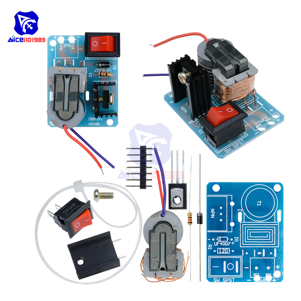 High Frequency 15KV Transformer DC High Voltage Arc Ignition Generator Inverter Boost Diy Kit Electronic PCB Board Module