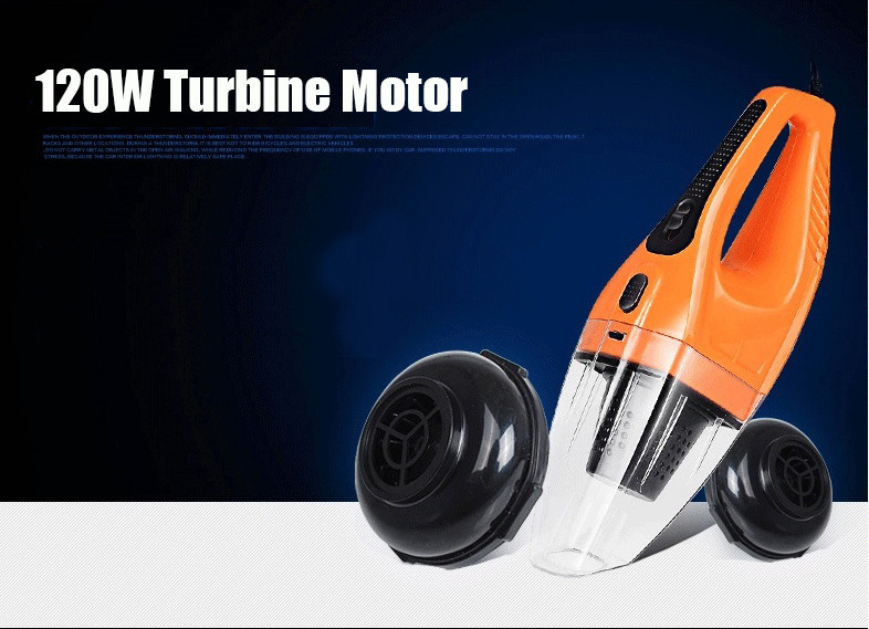 120W Portable Car Vacuum Cleaner Wet&Dry Dual-use (7)