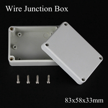 83x58x33mm ABS Waterproof Junction Boxes Connection Outdoor Indoor Distribution Monitoring Box Electric Enclosure Case IP65